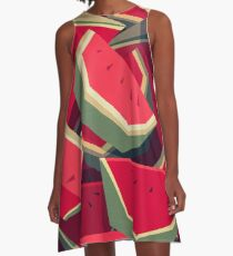 Too many watermelons A-Line Dress