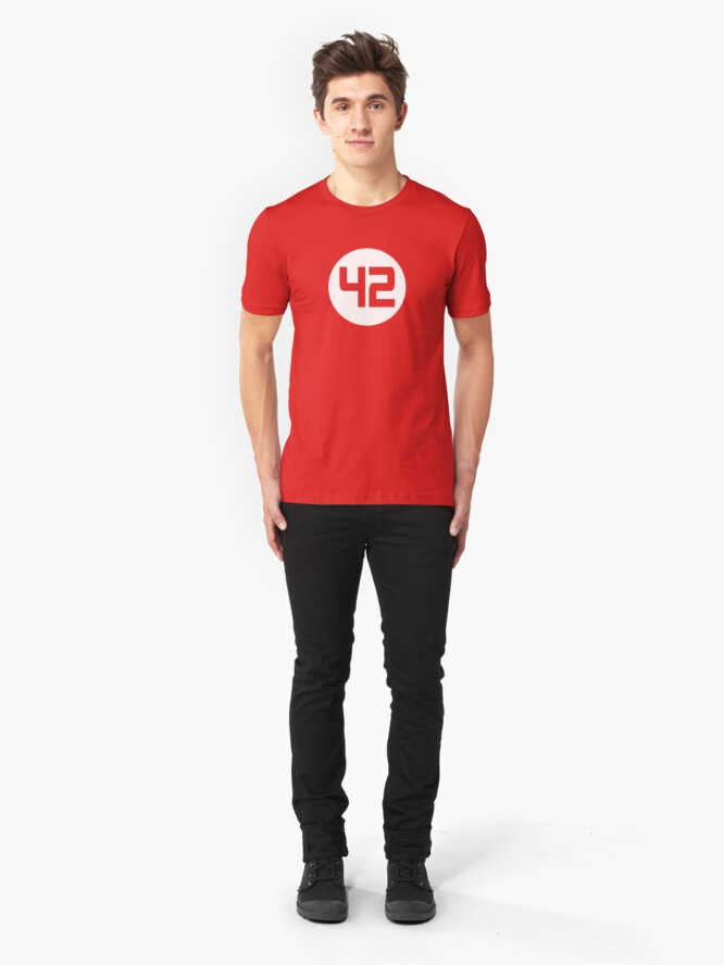 Alternate view of 42 Slim Fit T-Shirt
