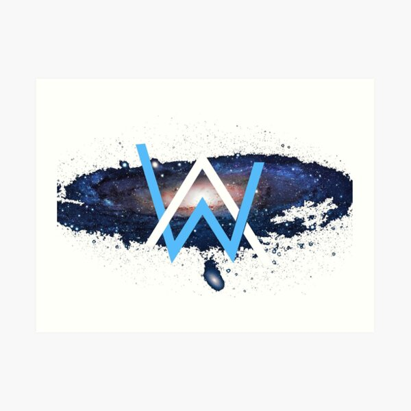 Alan Walker (Custom PhotoShop) Lámina artística