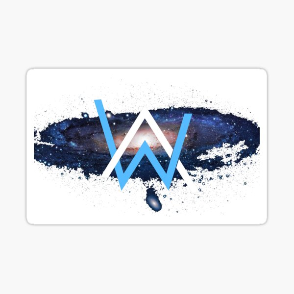 Alan Walker (Custom PhotoShop) Sticker