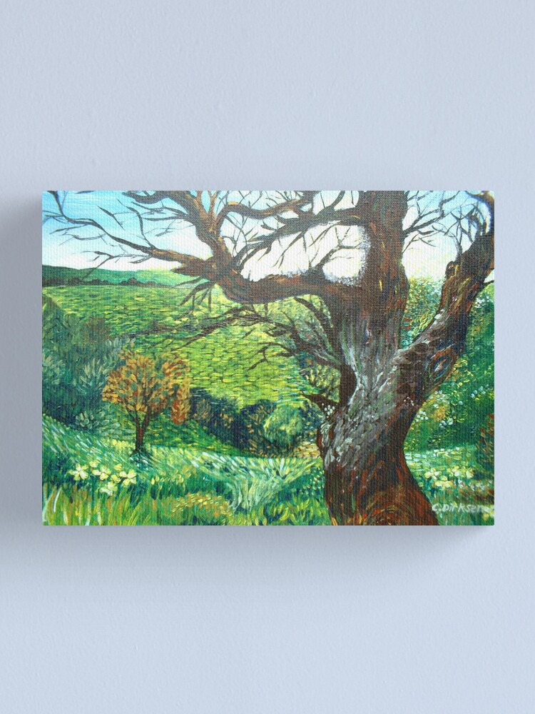 Alternate view of The Field Canvas Print
