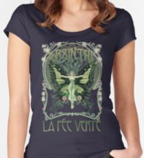 Absinthe  Women's Fitted Scoop T-Shirt