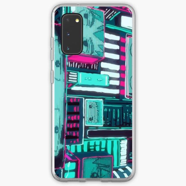 City of Pyschos Samsung Galaxy Soft Case