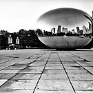 The Cloud Gate Sculpture by Collette B. Rogers