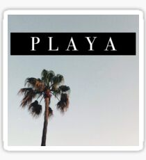 PLAYA - Palm Tree  Sticker
