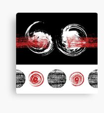 Cool Grungy Pattern Canvas Print