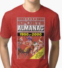 DUST JACKET. Tri-blend T-Shirt