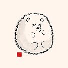 Fluffy Polar Bear by Panda And Polar Bear