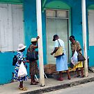 Carabbean Blue, Island of Barbados by Kurt  Van Wagner