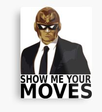 Captain Falcon in Formal Attire 2 Metal Print