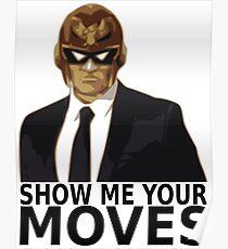 Captain Falcon in Formal Attire 2 Poster