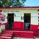 Rum Shop, Island of Barbados by Kurt  Van Wagner