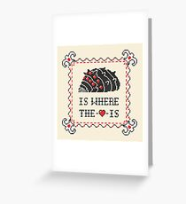 Ohmu Is Where the Heart Is Greeting Card
