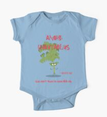 Sarcastic Kale Angry Vegetables - Eat Us If You Dare! Kids Clothes
