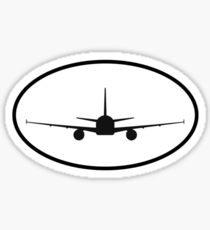 Airbus A320 (front) Sticker