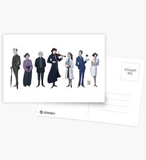 221B gang Postcards