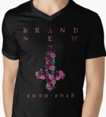 "Brand New ""Farewell Cross"" Men's V-Neck T-Shirt"