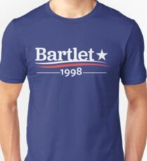 WEST WING President BARTLET 1998  White House Unisex T-Shirt