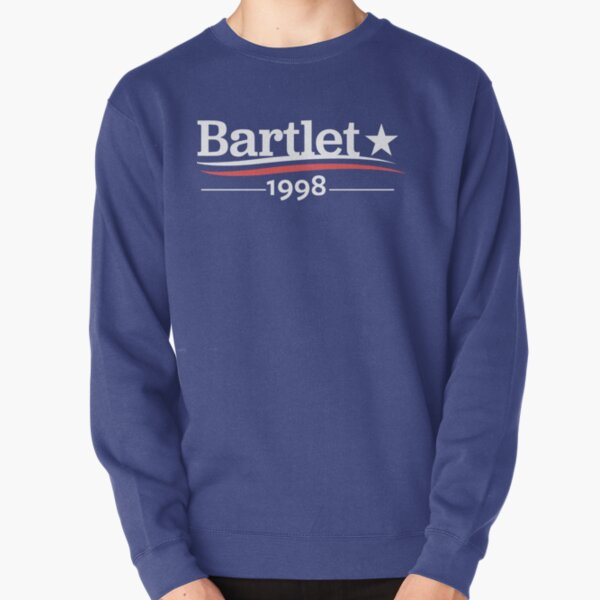 WEST WING President BARTLET 1998  White House Pullover Sweatshirt