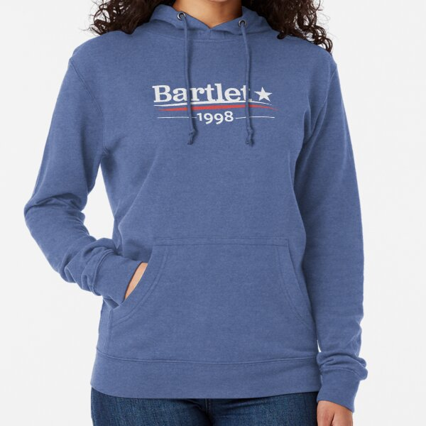 WEST WING President BARTLET 1998  White House Lightweight Hoodie