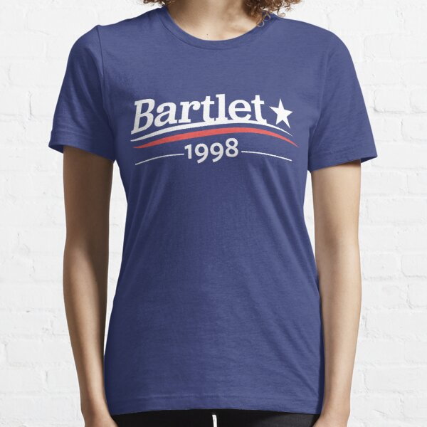 WEST WING President BARTLET 1998  White House Essential T-Shirt