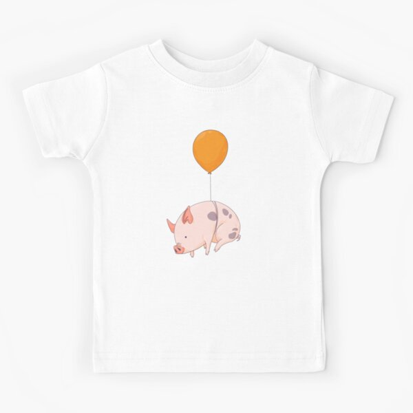 Wenn Schweine fliegen Kinder T-Shirt