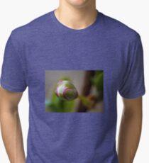 Flower macro Tri-blend T-Shirt