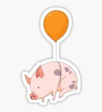 Pegatina Cuando los cerdos vuelen