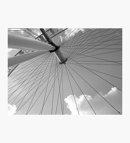 Spokes Photographic Print