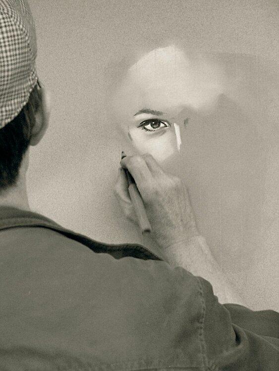 Her eye by Daaram