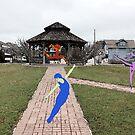 Dancers Near Gazebo by storecee