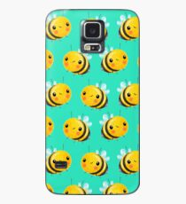 Bumble Bee Mint Case/Skin for Samsung Galaxy