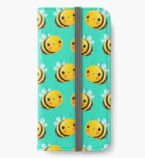 Hummel-Minze iPhone Flip-Case/Hülle/Klebefolie