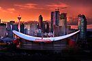 Calgary Skyline at Dusk by John Poon