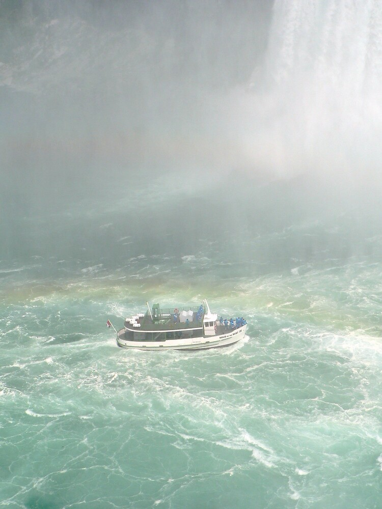 boat in a maelstrom by lucretia