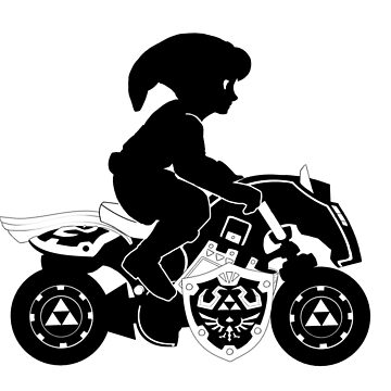 Mario Kart 8 - Master Cycle Silhouette  by briteddy