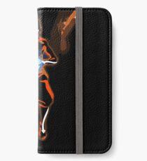 Positive und negative Chakren iPhone Flip-Case/Hülle/Klebefolie