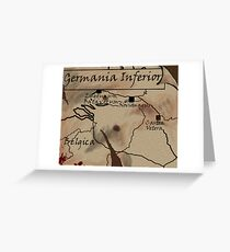 Germania Inferior Greeting Card
