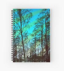 Woodland Sky Spiral Notebook