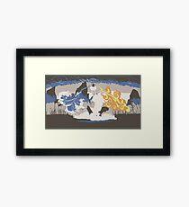 Avatar Wan Framed Print