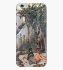 John William Waterhouse - The Orange Gatherers iPhone Case
