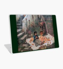 John William Waterhouse - The Orange Gatherers Laptop Skin