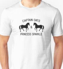 The OC - Captain Oats and Princess Sparkle Unisex T-Shirt