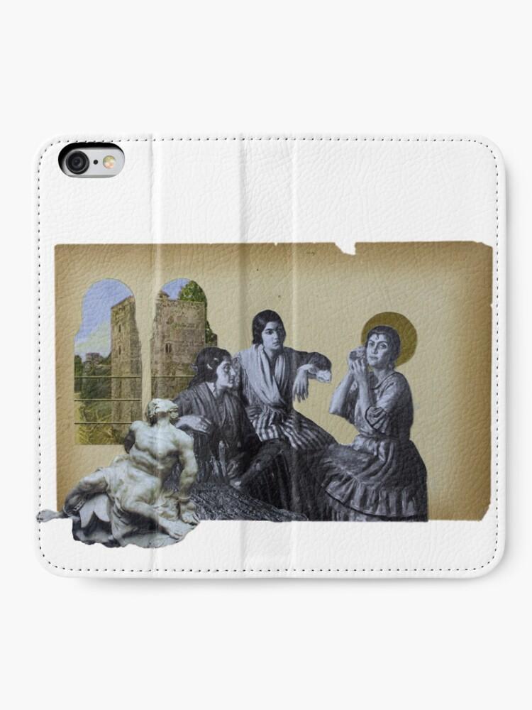 Alternate view of Virgin Mary iPhone Wallet