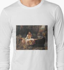 John William Waterhouse - The Lady Of Shalott 1888 T-Shirt