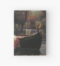 John William Waterhouse - The Lady Of Shalott 1888 Hardcover Journal