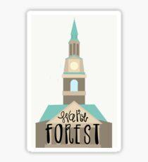 Deacon's Home Sticker