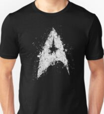 Star Trek - Splatter art Unisex T-Shirt