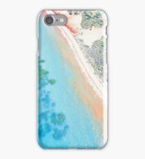 simpson beach mangroves areial high tide  iPhone Case/Skin