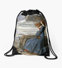 John William Waterhouse - Miranda - The Tempest Drawstring Bag